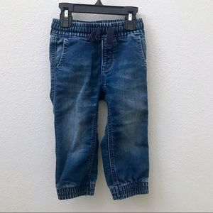 Baby GAP boys denim jeans joggers